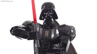 LEGO Star Wars Darth Vader buildable figure review! 75111