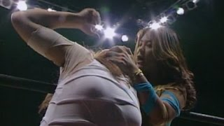 getlinkyoutube.com-Takako Inoue (AJW) vs Yasha Kurenai (LLPW)