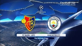 PES 2018 | FC Basel vs Manchester City | UEFA Champions League (UCL) | Gameplay PC