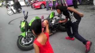 getlinkyoutube.com-Cara angkat Superbike dengan Betul - 1 Litre Bikers