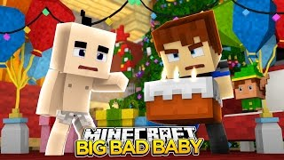 getlinkyoutube.com-Minecraft BIG BAD BABY - WAS SCUBA STEVE A LITTLE BULLY??