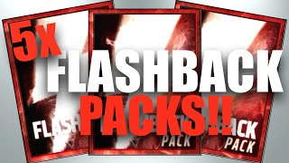 5 INSANE FLASHBACK PACKS!! - Madden Mobile 16