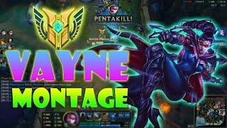 getlinkyoutube.com-Vayne Montage #12 - Best Vayne Plays Compilation 2016 - League of Legends