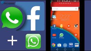 getlinkyoutube.com-2 WhatsApp 1 Android Indonesia