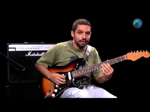Base Simples de Blues 2 - Iniciante intermedi�rio (aula de guitarra)