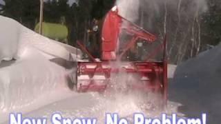 Detroit Diesel Snowblower