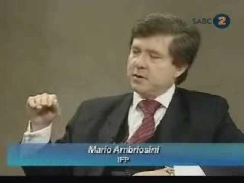 Dr Mario Oriani - Ambrosini MP on fiat money and the SARB