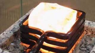 getlinkyoutube.com-Red-hot ice cube by induction heating