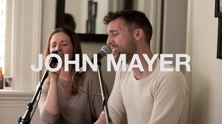 John Mayer - Free Falling | Cover by Jeff Carl Cover feat. Sabrina Gauer