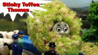 "getlinkyoutube.com-トーマス プラレール ガチャガチャ ベタベタトーマス Tomy Plarail Thomas""Sticky Toffee Thomas"""