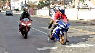 getlinkyoutube.com-Yamaha R6 & R1, S1000RR, CBR 600F, 600RR & 1000RR HRC, Ninja ZX6R & Suzuki - Bikers Curitiba 54