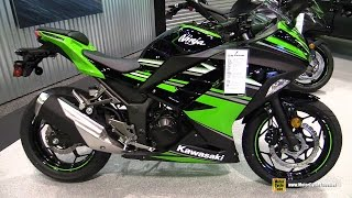 getlinkyoutube.com-2016 Kawasaki Ninja 300 ABS - Walkaround - 2015 AIMExpo Orlando