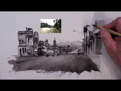 Pen, Ink speed demo by Joe Cartwright
