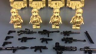 Новые ВОЕННЫЕ минифигурки! (LEGO Аналог) /  Lego minifigures (analogue)