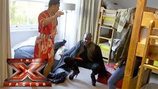 getlinkyoutube.com-Melvin & Rochelle get a tour of The X Factor house | The Xtra Factor 2015
