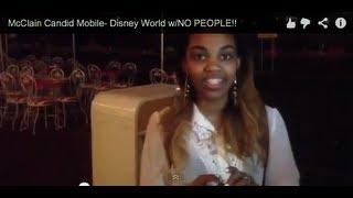 getlinkyoutube.com-McClain Candid Mobile- Disney World w/NO PEOPLE!!