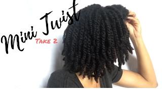 Mini Twist #2 || Natural Hair Length Retention Regimen