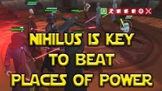 getlinkyoutube.com-Star Wars: Galaxy Of Heroes - Places Of Power Darth Nihilus FTW