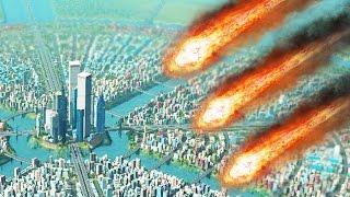 getlinkyoutube.com-METEORS vs HUGE CITY! (Cities Skylines Natural Disasters)