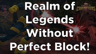 getlinkyoutube.com-Realm of Legends Without Perfect Block! - Full Run - Marvel Contest of Champions