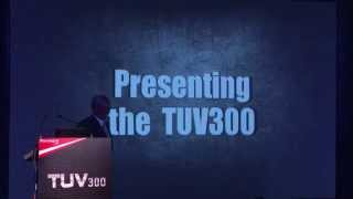 Mahindra TUV300 Webcast Video