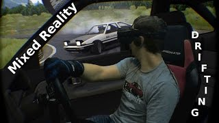 getlinkyoutube.com-🚕💨 Drifting in Mixed Reality - Assetto Corsa - Oculus Rift CV1