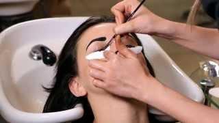 getlinkyoutube.com-Хна для бровей и ресниц - окрашивание с помощью хны. Brow Henna coloring.