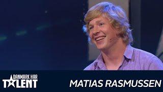 getlinkyoutube.com-Mathias Rasmussen - Danmark har talent - Audition 2