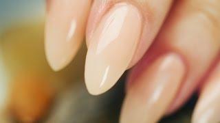 getlinkyoutube.com-Almond-Shaped, Acrylic Nails Step By Step Tutorial