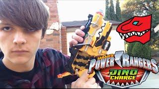 getlinkyoutube.com-Power Rangers Dino Charge Morph