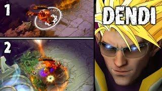 Dendi Invoker Sunstrike = Dead 7.02 META Dota 2