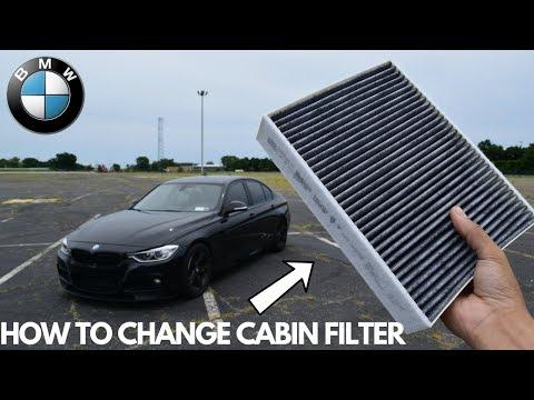 BMW Cabin Filter Change DIY