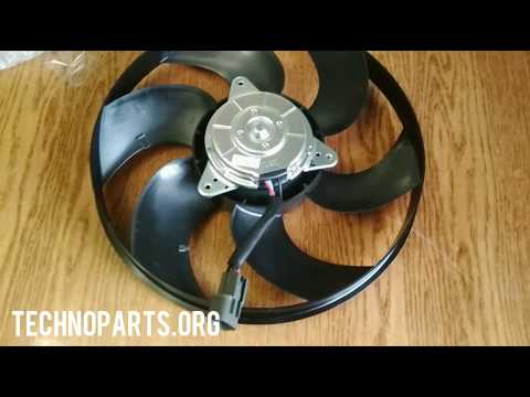 Вентилятор в сборе (крыльчатка+мотор) Mitsubishi Colt 1355A161