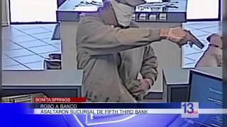 Robo violento a un banco en Bonita Springs
