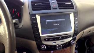 getlinkyoutube.com-Pioeneer Intelligent (2003-2007) Honda Accord 6-8 Inch Touchscreen