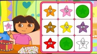 getlinkyoutube.com-Dora the Explorer Dora Say It Two Ways Bingo Cartoons Games