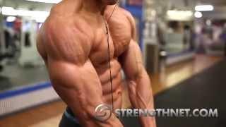 getlinkyoutube.com-Natural Bodybuilding:  High Intensity/High Volume Training to get Ripped!