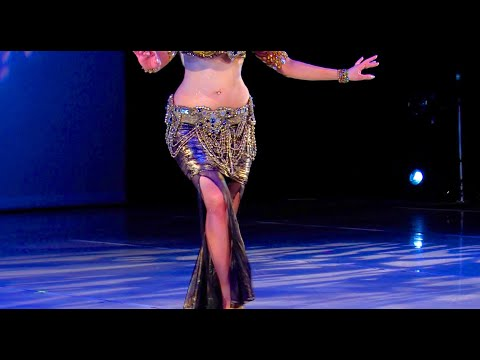 Belly Dance How to: Undulation / Body Wave / Camel Move - Belly Dancing - with Neon