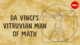 Da Vinci's Vitruvian Man of math - James Earle width=