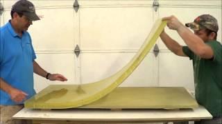 getlinkyoutube.com-Rubber Mold Making and Casting with GFRC, Glass Fiber Reinforeced Concrete