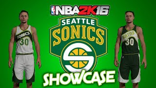 getlinkyoutube.com-NBA 2K16 MyTeam: Seattle Supersonics Replica jerseys + in-game footage