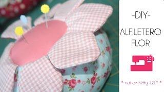 getlinkyoutube.com-Tutorial de como realizar un Alfiletero flor (Patrones gratis)
