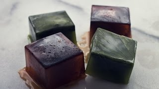 Caffeine with a Twist: Green Tea and Coffee Ice Cubes