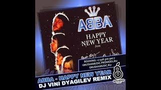 HAPPY NEW YEAR  DJ VINI REMIX - ABBA Karaoke