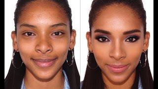 getlinkyoutube.com-Tutorial-Maquillaje Moderno para Pieles Oscuras