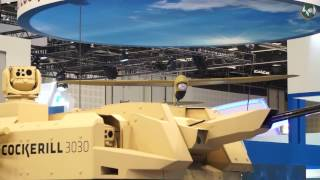 getlinkyoutube.com-CMI Defence at IDEX 2017 : Modularity, Turret/Drone pairing, Missiles and Simulation