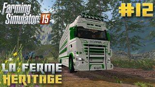 Farming Simulator 15   La Ferme Héritage   Episode 12   Le stagiaire ! (RolePlay)