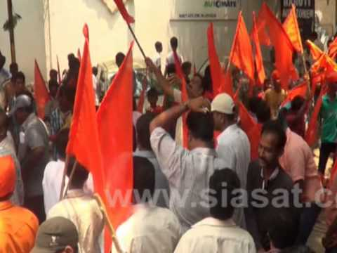 Hanuman Jayanti rally Passes off peacefully in tight Security
