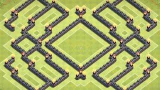getlinkyoutube.com-*Clash Of Clans* Town Hall 9 Farming Base Anti GoWipe