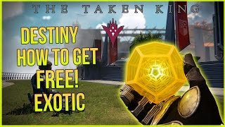 getlinkyoutube.com-Destiny The Taken King: How to get Free Exotic Weapon! Xbox Montecarlo & Hawkmoon!?